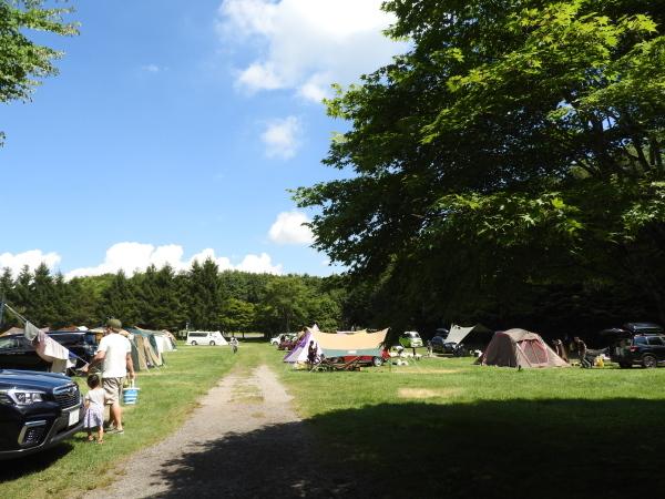 浅間山が噴火しましたがキャンプ場は通常営業をしています(2019年8月8日)_b0174425_11191558.jpg