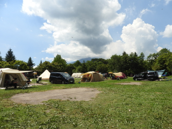 浅間山が噴火しましたがキャンプ場は通常営業をしています(2019年8月8日)_b0174425_11223497.jpg