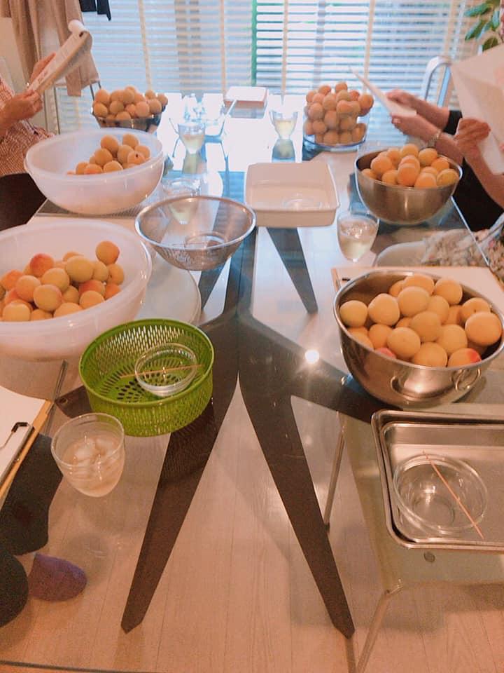 【梅干し作り&ラッキョウ作りレッスン開催しました!】_c0141025_14430440.jpg