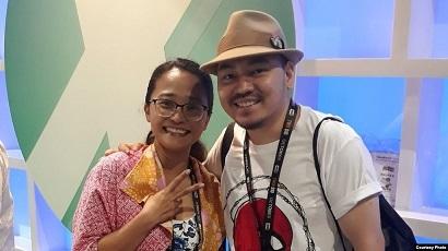 インドネシアの Ariela Kristantina さん& Ario Anindito さん @ サンディエゴ Comic-Con_a0054926_04593391.jpg
