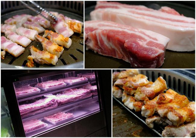 「新橋 ヨプの王豚 熟成豚肉サムギョプサル」_a0000029_10083277.jpg