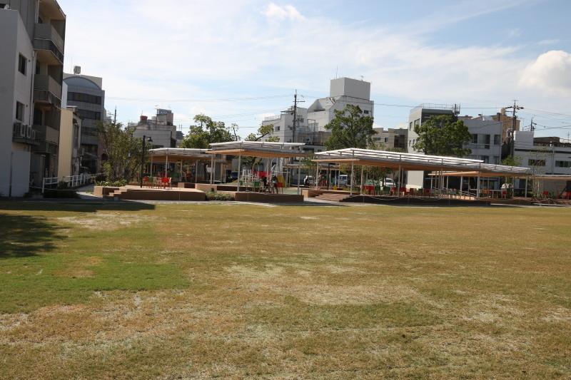 岡崎 籠田公園へ視察。_c0074553_22142713.jpg