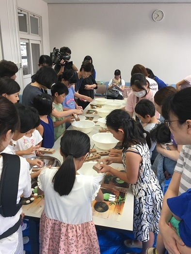 伝統的ものづくり夏休み親子体験教室_c0227958_07181155.jpg