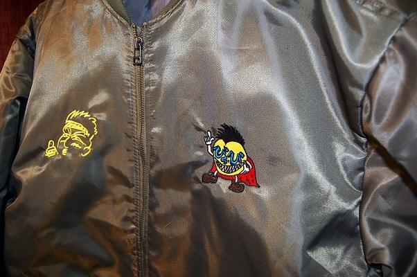 MA-1ジャケットにオリジナル刺繍を入れました!_e0260759_19380846.jpg