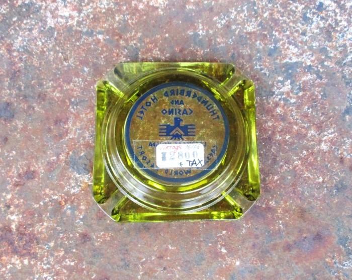 Vintage Advertising Ash Tray THUNDERBIRD_e0187362_11544885.jpg