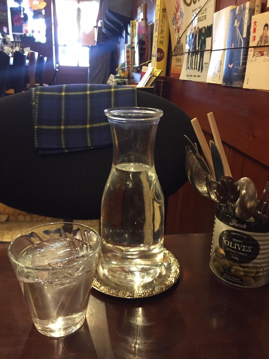 喫茶 1er ぷるみえ (ゴーヤ入りバターライスにアジアンカレーソースココナッツ入り)_e0115904_01564842.jpg