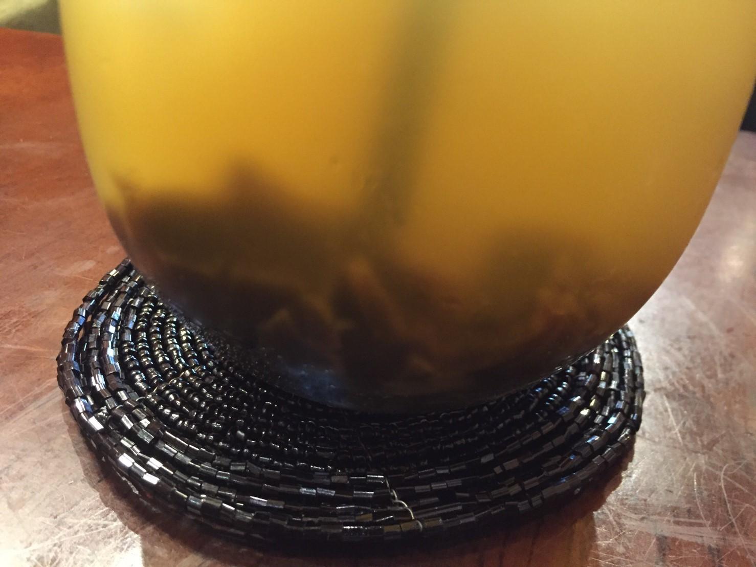 喫茶 1er ぷるみえ (ゴーヤ入りバターライスにアジアンカレーソースココナッツ入り)_e0115904_02142777.jpg