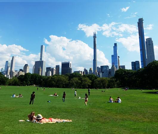セントラルパーク最大の芝生広場、「シープ・メドウ」(Sheep Meadow)へ_b0007805_06570609.jpg