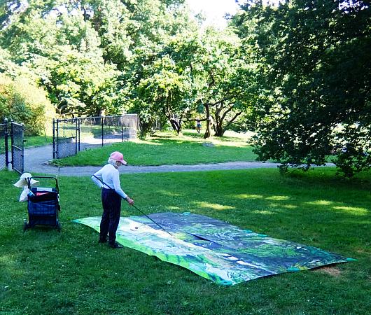 セントラルパーク最大の芝生広場、「シープ・メドウ」(Sheep Meadow)へ_b0007805_06585562.jpg