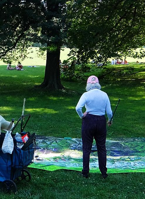 セントラルパーク最大の芝生広場、「シープ・メドウ」(Sheep Meadow)へ_b0007805_06593651.jpg