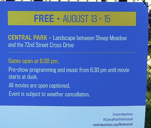 無料でセントラルパークで映画鑑賞する映画祭、Central Park Film Festival、8月13日~15日開催!_b0007805_07575562.jpg