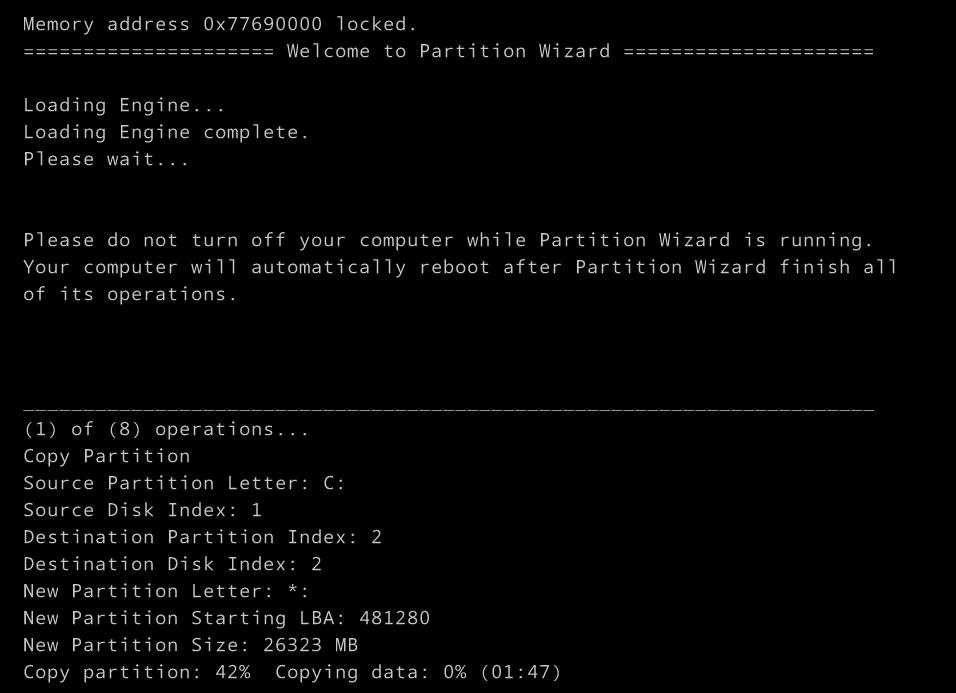 Windows7から10へ移行、C:ドライブの拡張には MiniTool  Partition Wizard は便利_a0056607_21054664.jpg