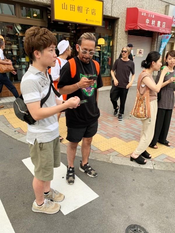 久々の伊藤會は渋谷 前篇 入荷メンズ、レディースサンダル マルタンマルジェラ、ユッタニューマン、エルメス_f0180307_21112897.jpg