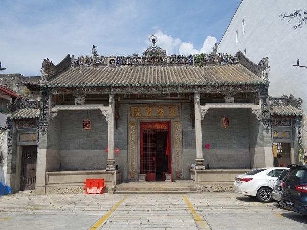 ジョージタウンの華人会館、華人廟_d0360509_13593327.jpg