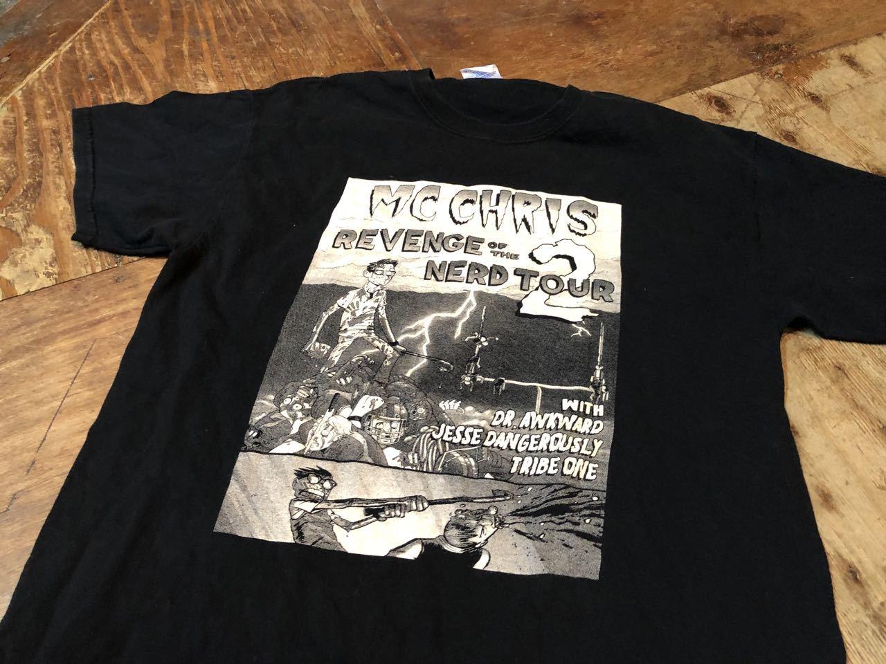 MC CHRIS  REVENGE OF THE NERD TOUR2  T シャツ!_c0144020_17443533.jpg