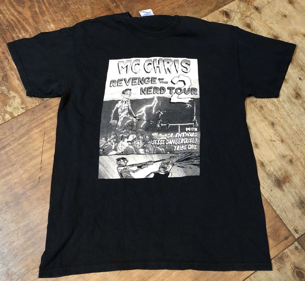 MC CHRIS  REVENGE OF THE NERD TOUR2  T シャツ!_c0144020_17454985.jpg