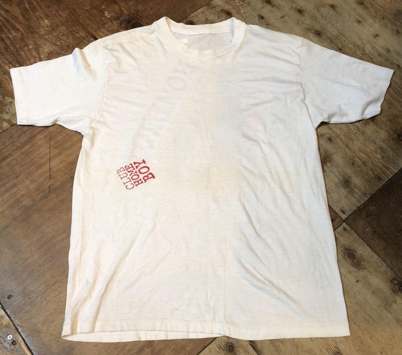 8月10日(土)入荷! ちびっこギャング CLUB HOMEBOY Tシャツ!_c0144020_17540267.jpg