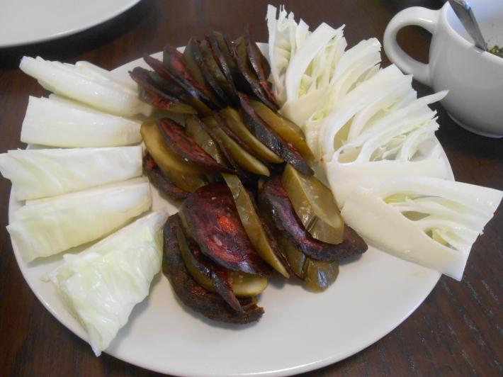 バレンシアで料理する 9)バレンシアで最後の一日。晩餐_a0095931_10582421.jpg