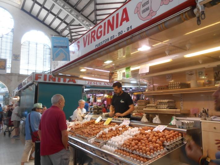 バレンシアで料理する 9)バレンシアで最後の一日。晩餐_a0095931_11182297.jpg