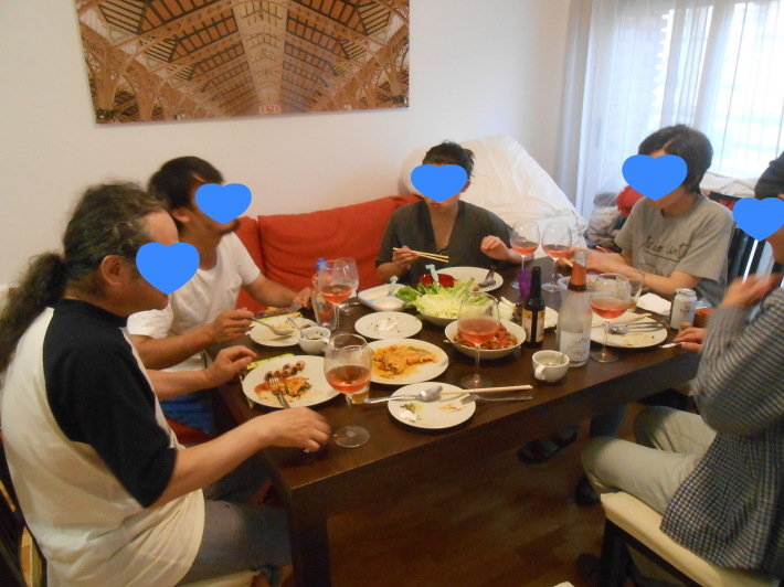 バレンシアで料理する 9)バレンシアで最後の一日。晩餐_a0095931_12321338.jpg