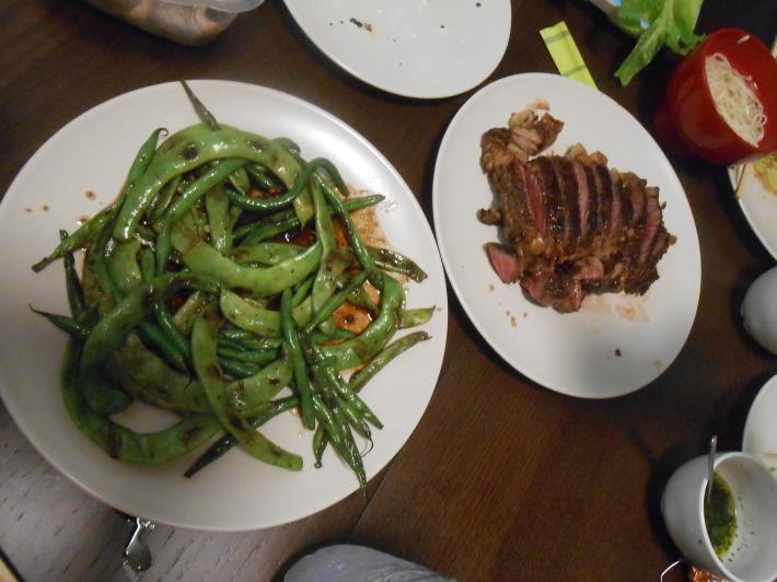 バレンシアで料理する 9)バレンシアで最後の一日。晩餐_a0095931_12475739.jpg