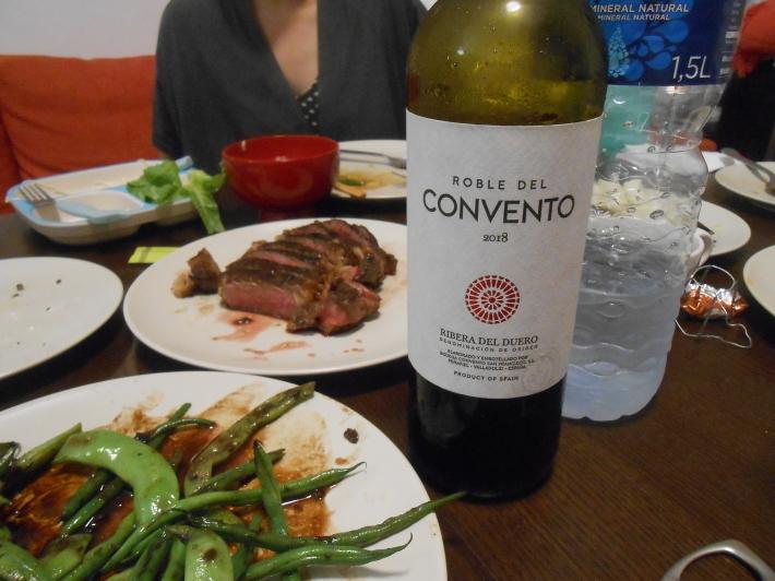 バレンシアで料理する 9)バレンシアで最後の一日。晩餐_a0095931_12492094.jpg