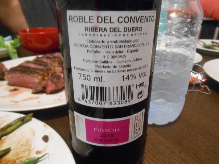 バレンシアで料理する 9)バレンシアで最後の一日。晩餐_a0095931_12541167.jpg