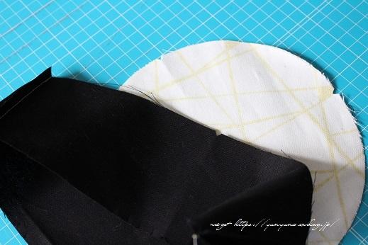 円形底のカーブをミシンで綺麗に仕上げる方法♪(縫い方のポイントレッスン)_f0023333_22313455.jpg