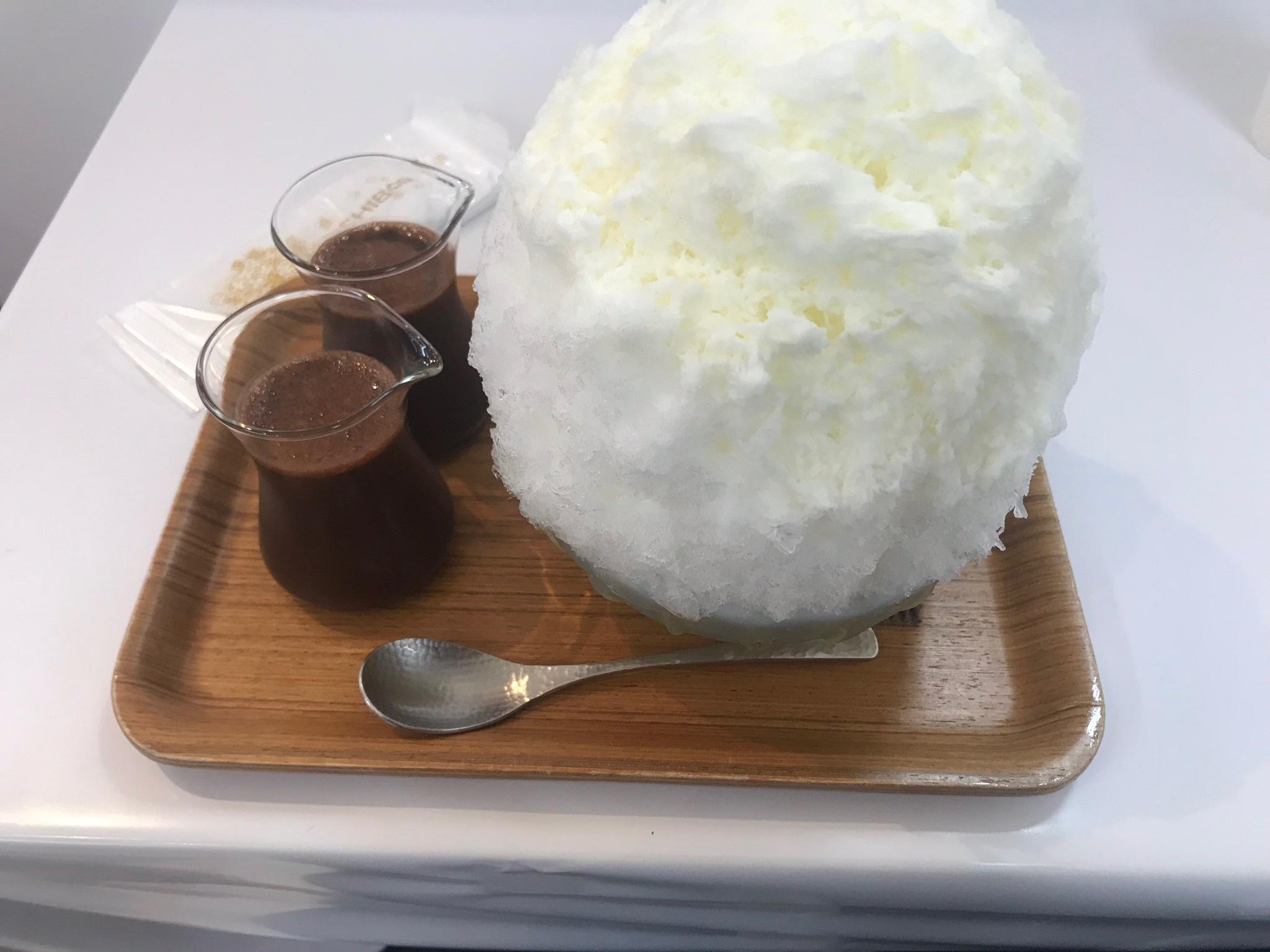 【かき氷「埜庵」】チョコとすいか【さいか屋夏季出張所】_b0009849_06290024.jpeg
