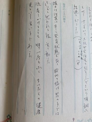 母の育児日記から私のペットロスが見えた気がした!_b0307951_19221578.jpg