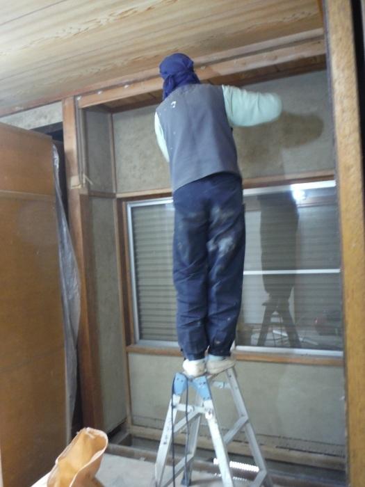 室内リフォーム ~ 階段の手摺と和室工事_d0165368_05120598.jpg