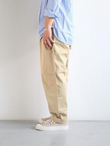 Sans limite CHINO CLOTH GOM PANTS_b0139281_17405630.jpg
