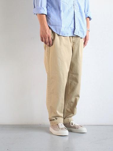 Sans limite CHINO CLOTH GOM PANTS_b0139281_174142100.jpg