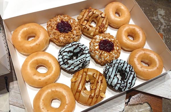 【試食会】クリスピー・クリーム・ドーナツ&スプリングバレーブルワリー『Doughnuts×Craft Beer』フェア_d0272182_17460000.jpg