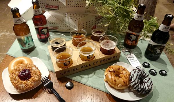 【試食会】クリスピー・クリーム・ドーナツ&スプリングバレーブルワリー『Doughnuts×Craft Beer』フェア_d0272182_17460097.jpg