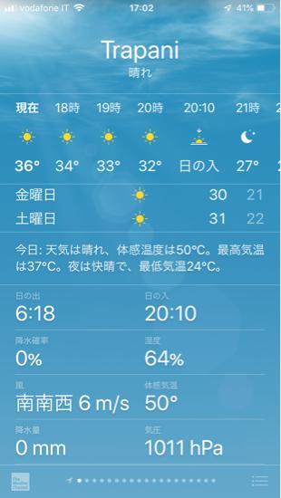 今日 の 温度 は