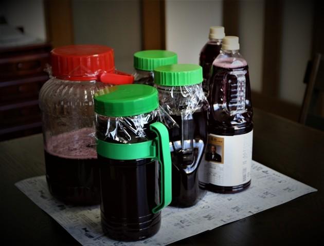 今年も赤紫蘇ジュース作り~♬_f0229190_15475024.jpg