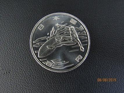 オリンピック100円硬貨_e0185893_07272205.jpg