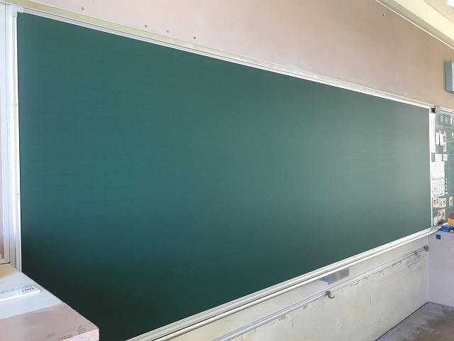 黒板の貼り替え修理_c0215194_21183399.jpg