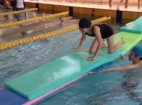夏短期教室2期 水中祭り!!_b0286596_18122870.jpg