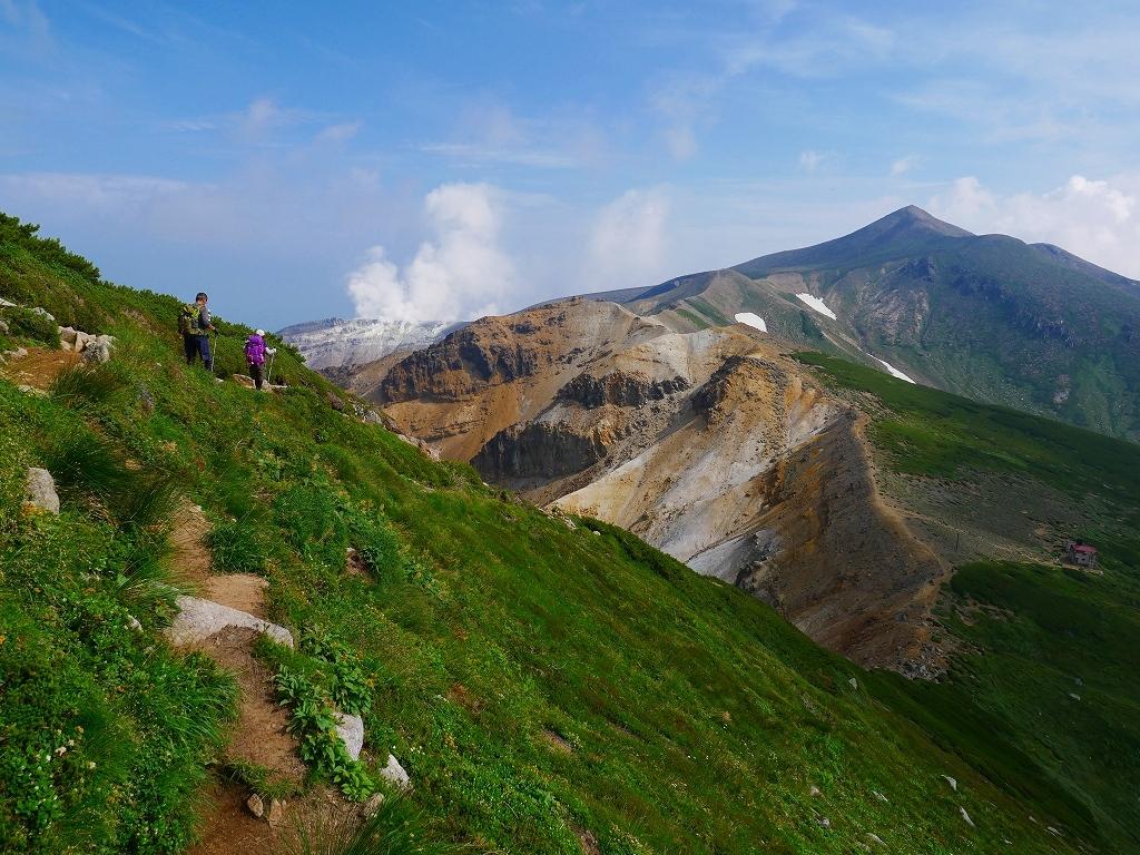 上富良野岳から十勝岳ピストン、2019.8.7ーその1ー_f0138096_13232136.jpg