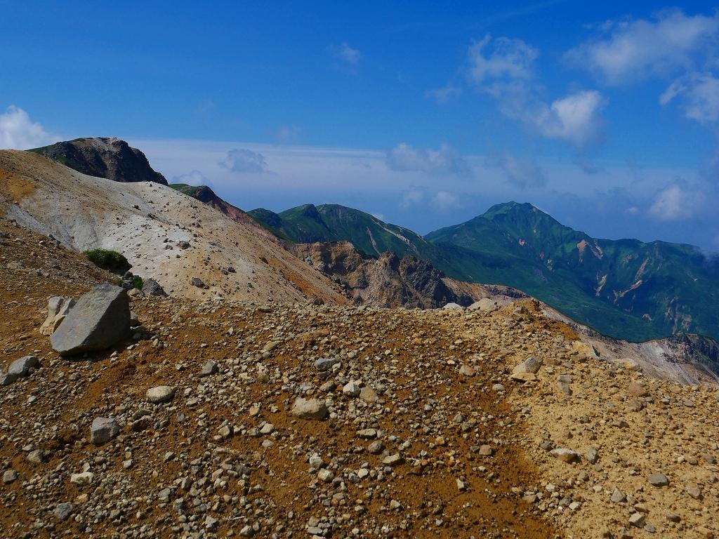 上富良野岳から十勝岳ピストン、2019.8.7ーその1ー_f0138096_13233021.jpg