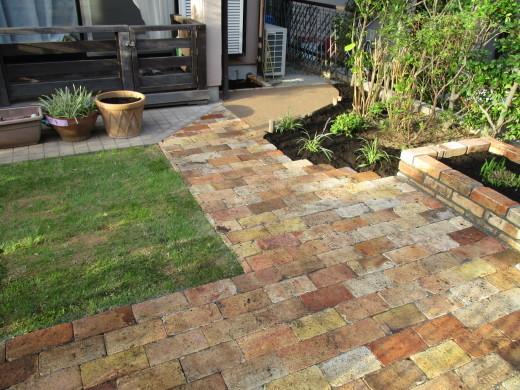 お庭のリフォーム_d0358411_19255235.jpg