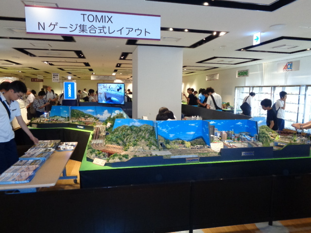 阪急百貨店 鉄道模型フェスティバル2019 開催中_a0066027_18190018.jpg
