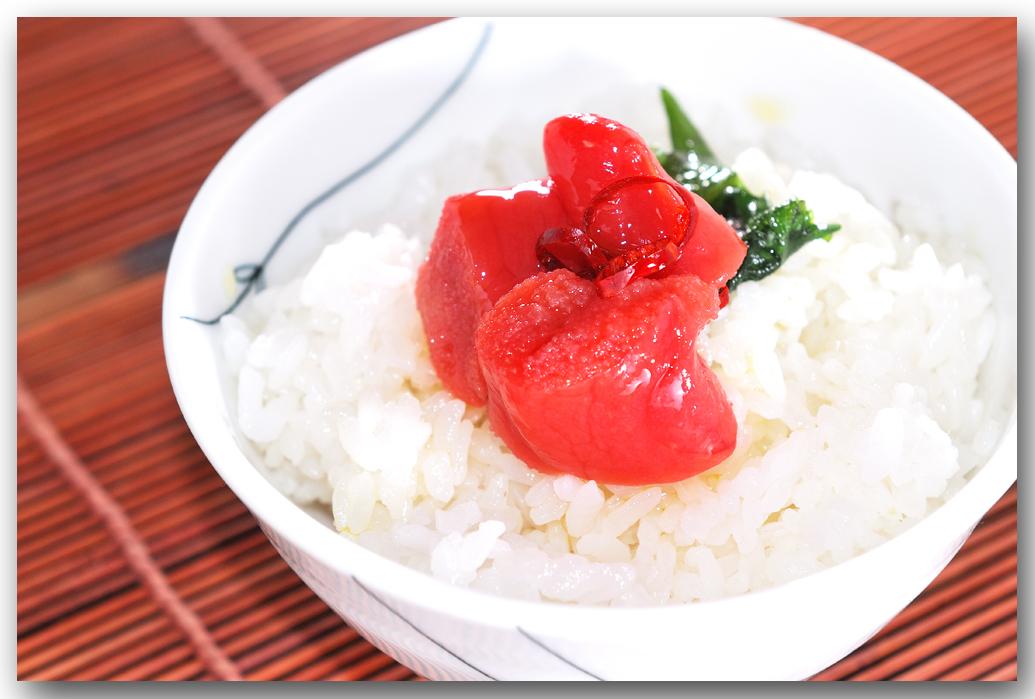 メシ通『魚介を使った簡単レシピ』 ☆ たらこをオイル漬けに!_d0069838_09341474.jpg