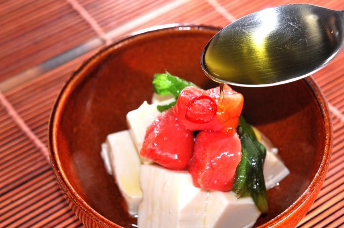 メシ通『魚介を使った簡単レシピ』 ☆ たらこをオイル漬けに!_d0069838_09341644.jpg