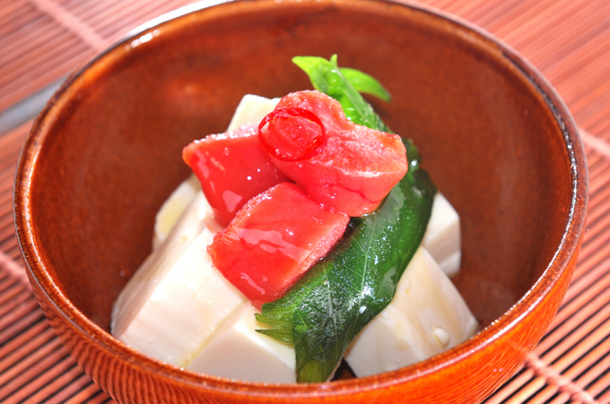 メシ通『魚介を使った簡単レシピ』 ☆ たらこをオイル漬けに!_d0069838_09341903.jpg