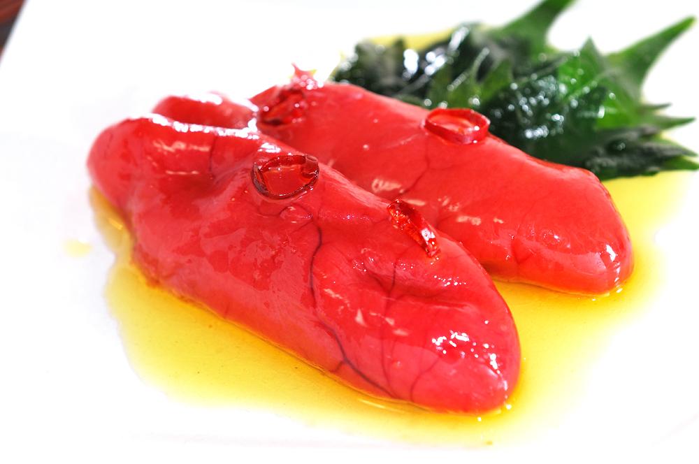 メシ通『魚介を使った簡単レシピ』 ☆ たらこをオイル漬けに!_d0069838_09342453.jpg