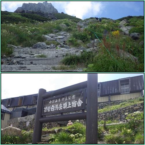 北ア遠征・・・白馬岳②_e0164643_09363388.jpg