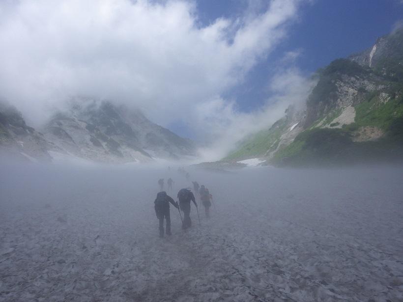 北ア遠征・・・白馬岳②_e0164643_09370110.jpg